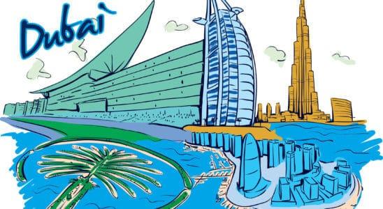 počasí Dubaj celoročně