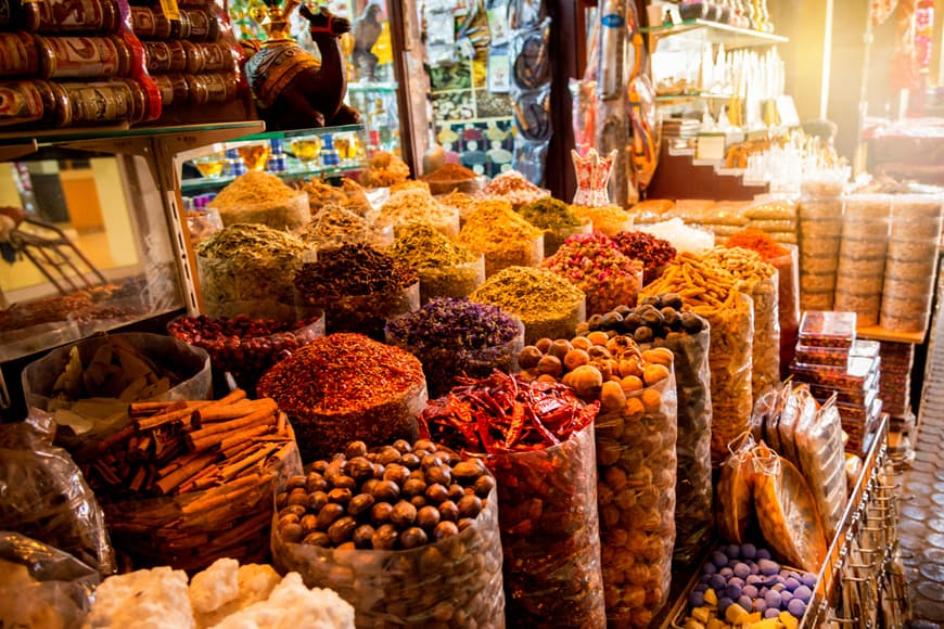 Dubaj souk - tržnice