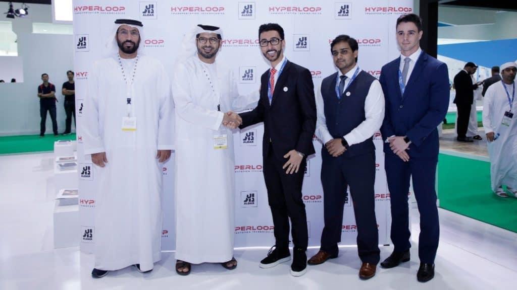 Hyperloop Dubaj - podpis dohody, zdroj: aldar.com
