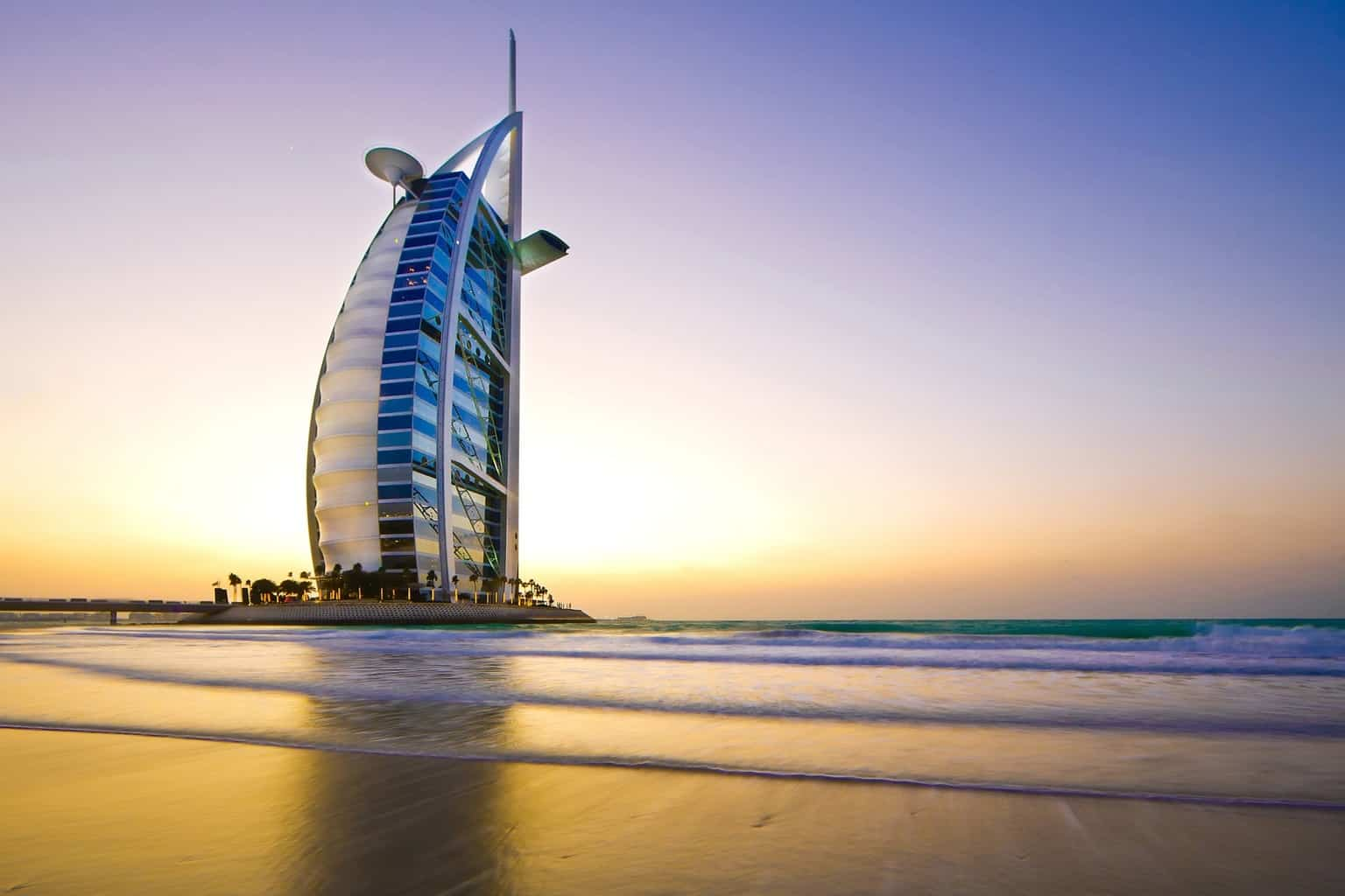 Top luxusní hotel Dubaj - Burj al Arab