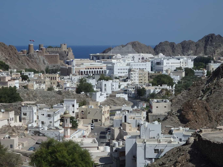 Muscat je krásné město