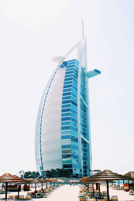 Super luxusní hotel v Dubaji - Burj al Arab
