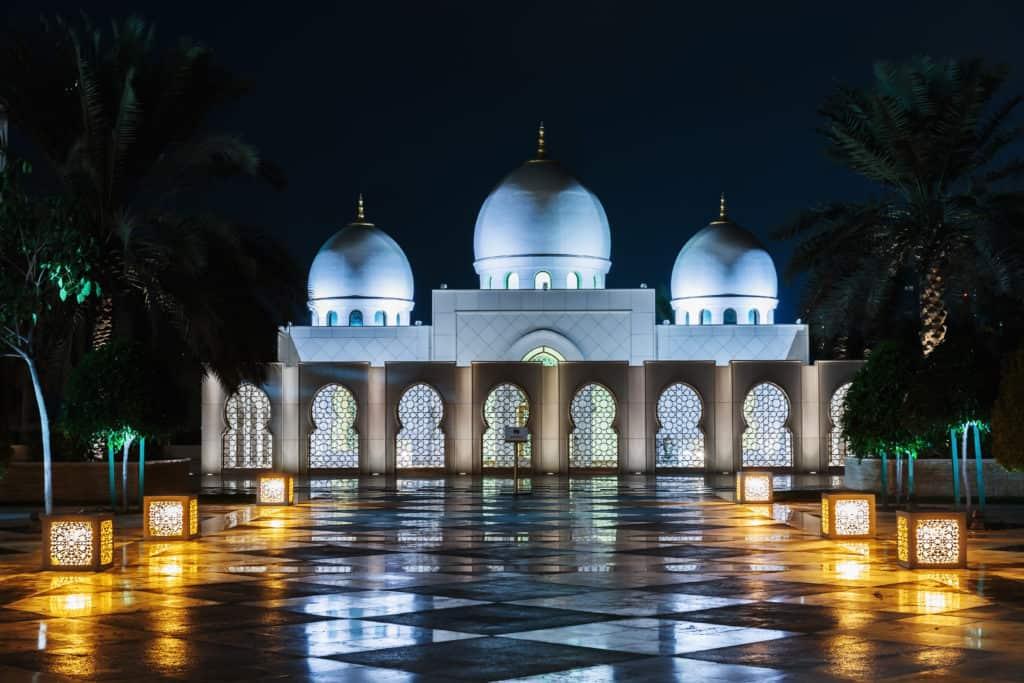 Mešita v Abu Dhabi