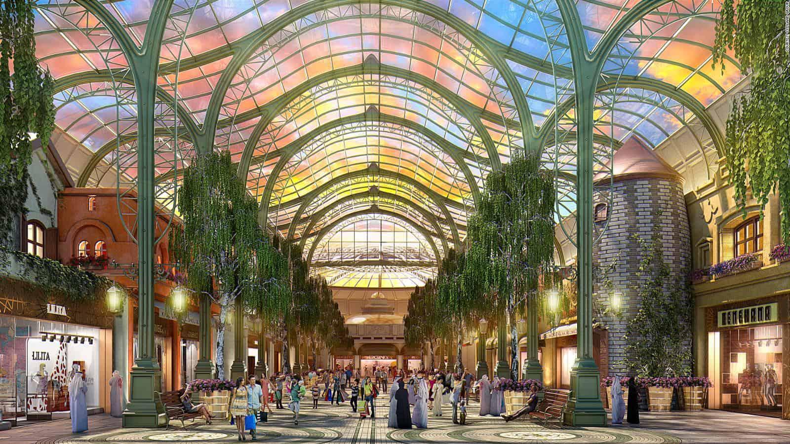 Dubaj Cityland mall